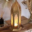Lisa Angel Special Large Gold Decorative Kasbah Lantern