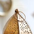 Lisa Angel Hanging Large Gold Decorative Kasbah Lantern