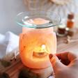 Unisex Lotus Flower Himalayan Rock Salt Oil Burner