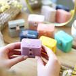 Lisa Angel Ladies' Personalised Birth Flower Petite Travel Ring Box