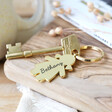Lisa Angel Quirky Personalised Engraved Family Character Keyring