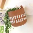 Lisa Angel Terracotta Hangable Planter, H13cm