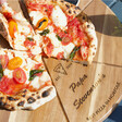Lisa Angel Special Personalised 'Est.' Pizza Serving Board & Cutter Set