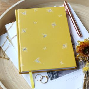 Yellow Bumblebee Notebook
