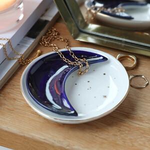 Nesting Moon Shaped Trinket Dish Set
