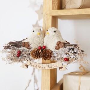 Bird Pair Hanging Decoration