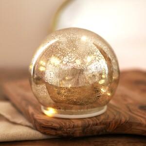 Medium Silver Mercury LED Ball