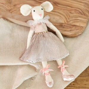Pink Mouse Doll