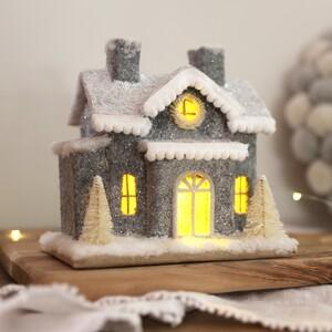 Grey House LED Decoration