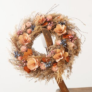 Autumnal Dried Floral Wreath