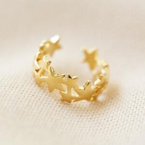 Star earcuff in Gold