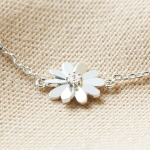 Daisy Anklet in Silver
