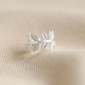 Fern Earcuff in Silver