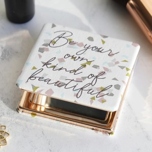 'Your Own Kind of Beautiful' Compact Mirror