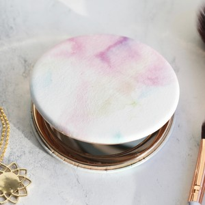 Watercolour Compact Mirror