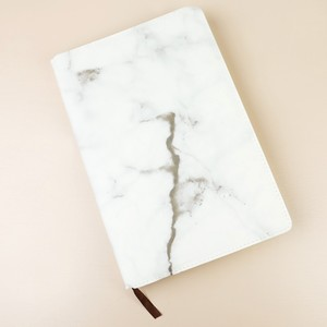 Marble Notebook with Gold Edges