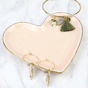 Pink Heart Trinket Dish