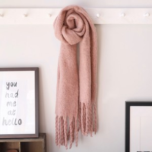 Pink Speckle Scarf