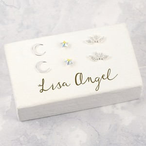 Lisa Angel Earring Block - Painted