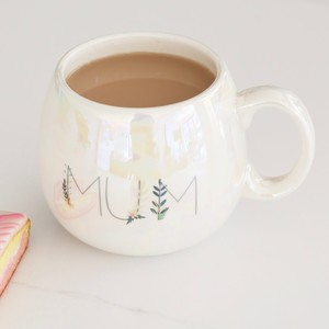Iridescent Floral 'Mum' Mug