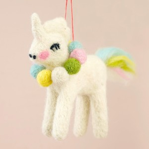 Felt Unicorn Hanging Decoration