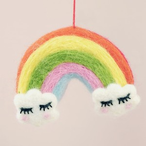 Felt Rainbow Hanging Decoration