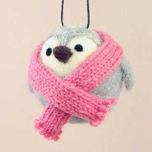 Felt Penguin Hanging Decoration