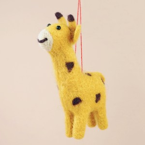 Felt Giraffe Hanging Decoration
