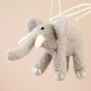 Felt Elephant Hanging Decoration