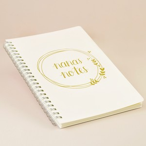 Nana's Notes Notebook (A5)