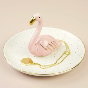Confetti Flamingo Jewellery Dish