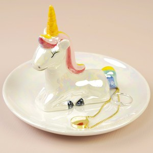 Iridescent Unicorn Jewellery Dish