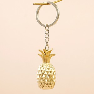 Gold Pineapple Keyring