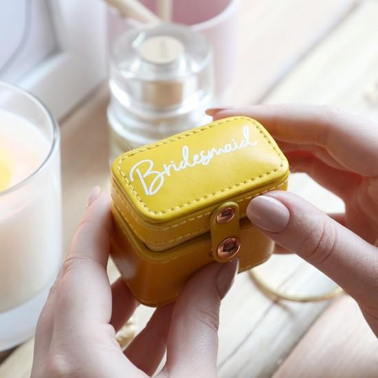 Custom Mini Travel Ring Box