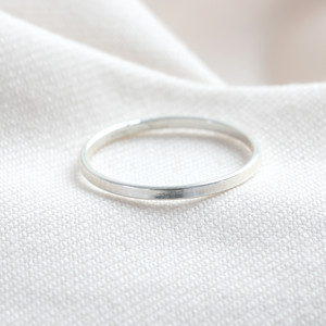 STS Thin band ring - LARGE