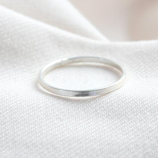 STS Thin band ring - SMALL