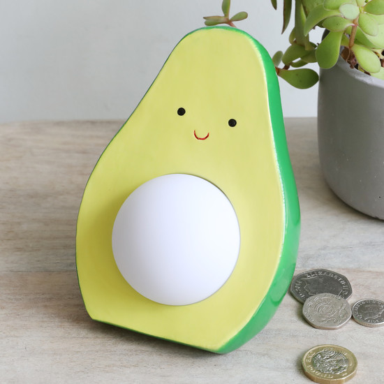 Avocado LED Money Box