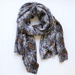 Soft Snakeskin Blanket Scarf