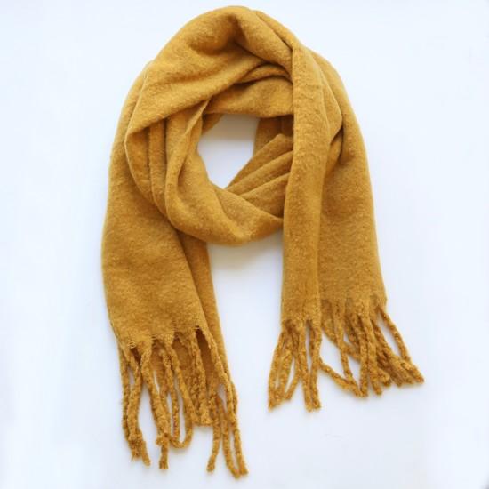 Mustard Blanket Scarf