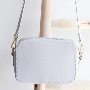 Light Grey Rectangular Shoulder Bag