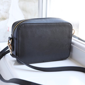 Black Rectangular Shoulder Bag