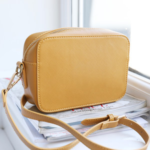 Mustard Rectangular Shoulder Bag