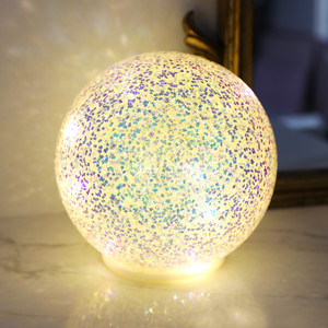 Large Glitter LED Ball