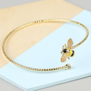Bumble Bee Gem Open Bangle