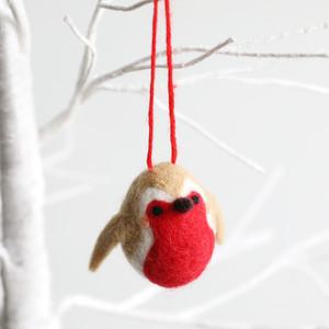 Felt Robin Hanging Dec