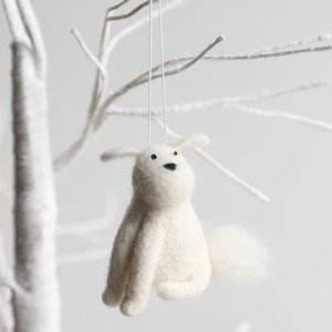 Felt Dog Hanging Dec