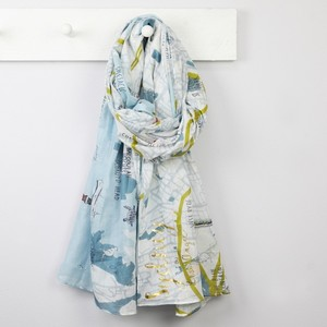 Illustrated Sydney Map Scarf