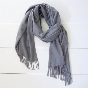 Soft Grey Scarf