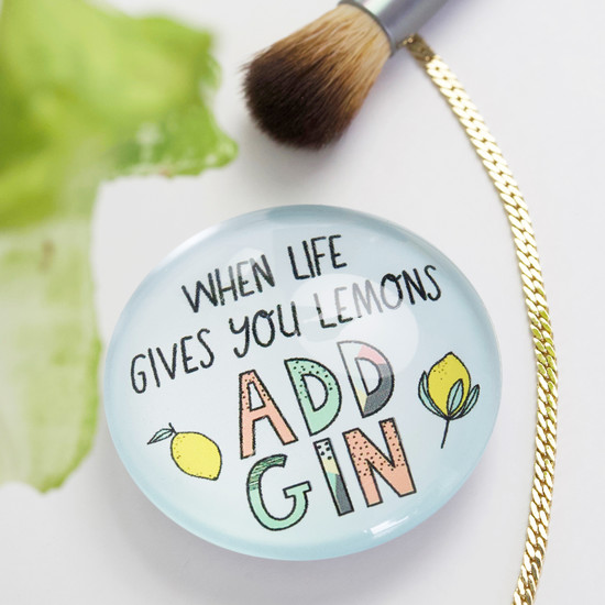 24 Add Gin Magnets with Display Board