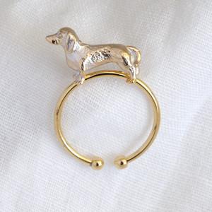 3D Sausage Dog Ring